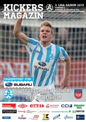 Euro Preisvorteil!1 - SV Stuttgarter Kickers