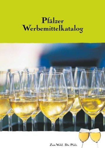 Werbemittel-Katalog - Pfalz