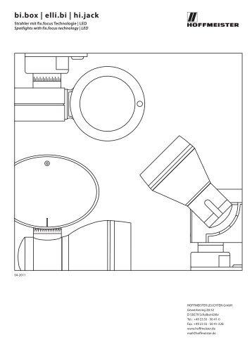bi.box | elli.bi | hi.jack - Hoffmeister Leuchten GmbH.