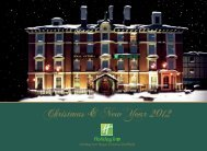 Christmas brochure 2012 now available - Holiday Inn Royal Victoria ...