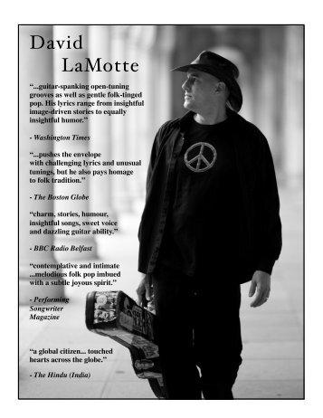 Keep the Change - David LaMotte