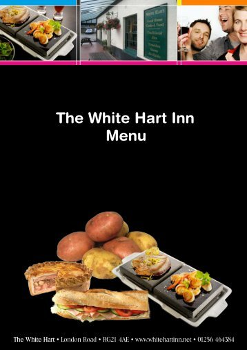 Black Rock Grill Menu - White Hart Inn Basingstoke