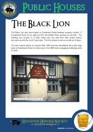 Black Lion - Houghton Heritage