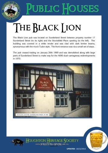 Black Lion - Houghton Heritage
