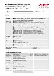 Baurestmassennachweis-Formular - Prantauer