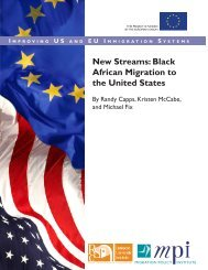 New Streams: Black African Migration to the United States
