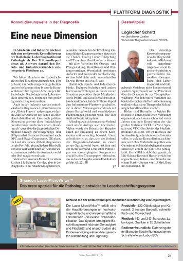 Eine neue Dimension - Trillium GmbH