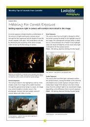 Metering For Correct Exposure - Lastolite School of Photography
