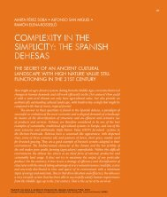 coMplexITy In The sIMplIcITy: The spanIsh dehesas - Landscape ...