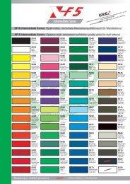 Online Colour Card XF 5 Intermediate Series (PDF -