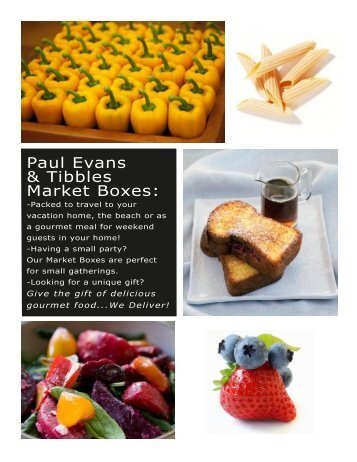Paul Evans & Tibbles Market Boxes: