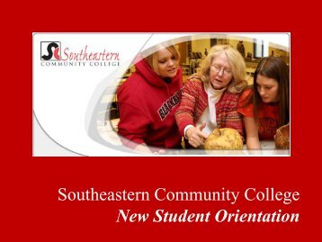 Southeastern Community College Online Orientation Program