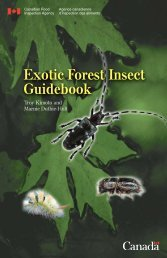 Exotic Forest Insect Guidebook - Ontario Stewardship