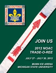 JOIN US - International Scouting Collectors Association