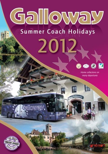 Coach Holiday Summer 2012 - Galloway European Coachlines