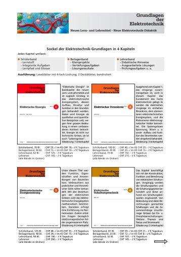 Grundlagen der Elektrotechnik - Walter Gille Lern- und Lehrmittel