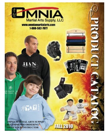 Omnia Catalog letter size - World Youn Wha Ryu Association