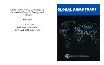 Global Arms Trade: Commerce in Advanced Military Technology ...