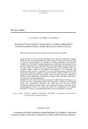 Review article - Journal of Physiology and Pharmacology