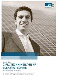 dipl. techniker / -in hf elektrotechnik - Schweizerische Technische ...