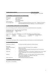 Veiligheidsinstructie document - Destil