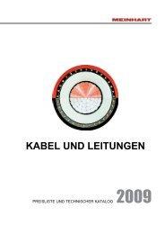 KABEL UND LEITUNGEN - Meinhart Kabel Österreich GmbH