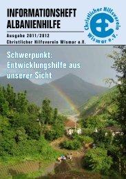 Das neue Albanienheft Ausgabe 2011/12 hier zum - strato