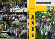 miteinander - Markuskirchgemeinde Plauen