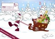 Weihnachten auf PSD - PSD-Tutorials.de