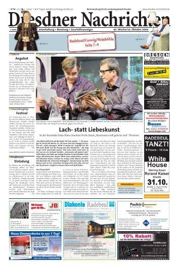 Lach- statt Liebeskunst - Dresdner Akzente