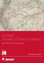 UK-Brazil Frontiers of Science meeting - The Royal Society