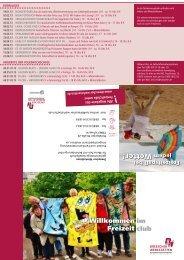 Neues Freizeitprogramm 1. Halbjahr 2013 (PDF) - Dreescher ...