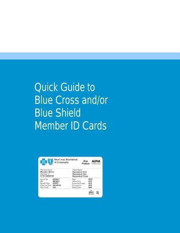 Quick Guide to - BlueCross BlueShield of Tennessee