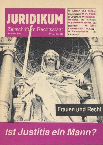 """""""Eine Frauensache"""": Familie ·Patrie • Travail - juridikum, zeitschrift ..."""
