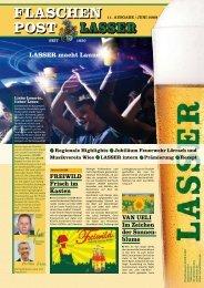FLASCHEN POST - Brauerei Lasser GmbH