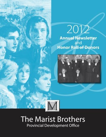 honor roll of donors - The Marist Brothers