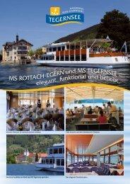 MS ROTTACH-EGERN und MS TEGERNSEE – elegant, funktional ...
