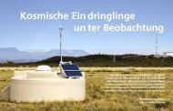 Von Bianca Keilhauer und Johannes Blümer Atomkerne, Photonen ...