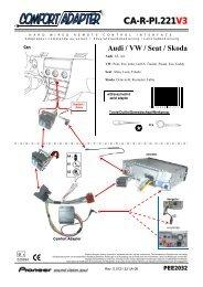 CA-R-PI.221V3 Audi / VW / Seat / Skoda PEE2032 - Pioneer
