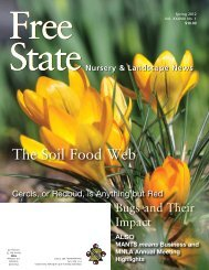 The Soil Food Web - Maryland Nursery and Landscape Association