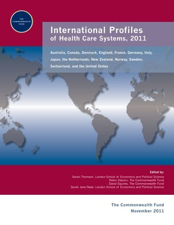 International Profiles of Health Care Systems, 2011 - The ...