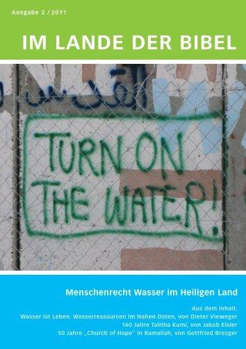 IM LANDE DER BIBEL - Berliner Missionswerk