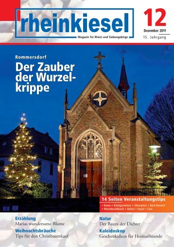 Rommersdorf Der Zauber der Wurzel - Rheinkiesel