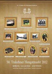 Auktionspferde Katalog (pdf) - Trakehner Verband