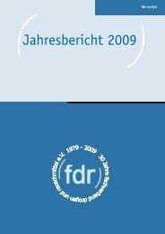 Jahresbericht 2009.docx - FdR