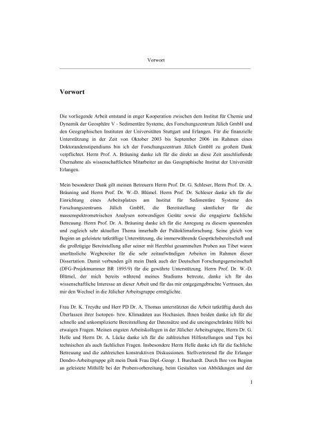 Untersuchungen zur Klimavariabilität auf dem Tibetischen Plateau ...