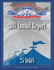 2011 Annual Report - Lake Superior Big Top Chautauqua