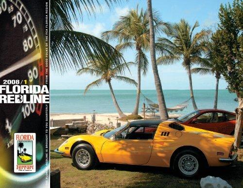 Redline The Original Florida Region Ferrari Club Of America