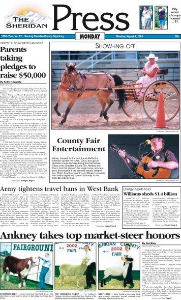 Ankney takes top market-steer honors - The Sheridan Press