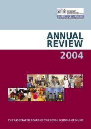 ANNUAL REVIEW 2004 - ABRSM